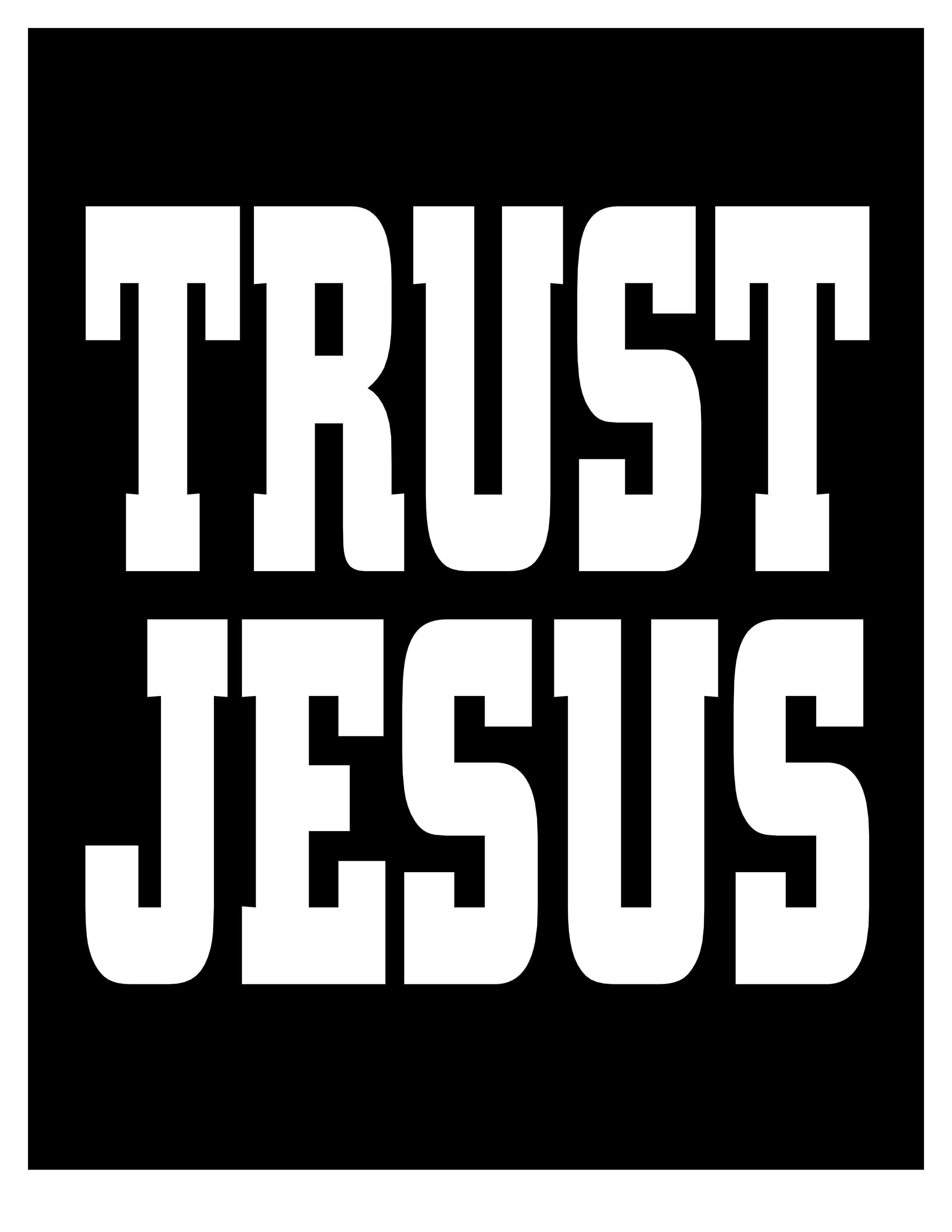TRUST JESUS 03